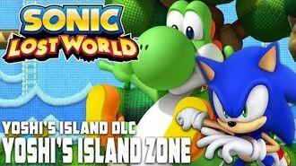Sonic Lost World (Wii U) - Yoshi's Island Zone