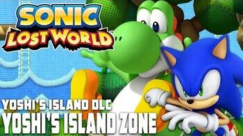 Sonic Lost World (Wii U) - Yoshi's Island Zone