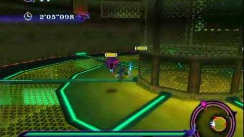 Sonic Unleashed (Wii) - EggmanLand Night Stage 1 Infiltration