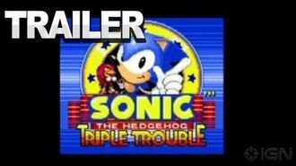 Sonic the Hedgehog Triple Trouble - 3DS Trailer