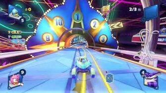 Team Sonic Racing Pinball Highway (Chao) 1080 HD
