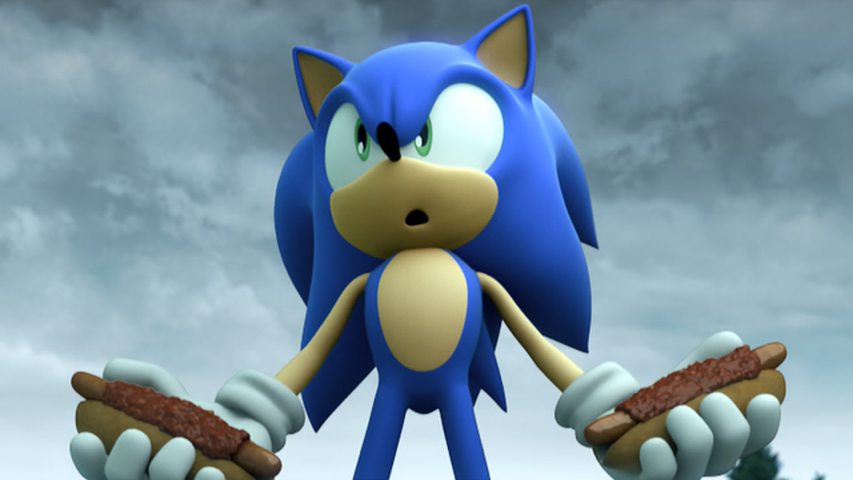 Sonic And The Black Knight Chili Dog