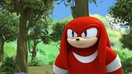 S1E44 Knuckles irritated