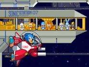 SegaSonic Cosmo Fighter 19