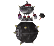Shadow Model Egg Bommer