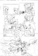 Sonic 4 Episode 2, pencils page 4