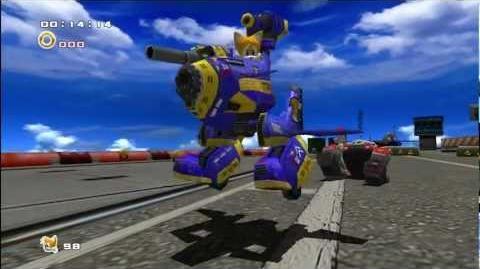 Sonic Adventure 2 Dr. Eggman Round 1 1080 HD