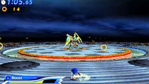Sonic Generations 3DS - Egg Emperor