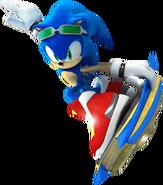 Sonic SRiders art 1