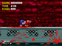 Sonicexe screenshot sonic killing knux by crystalthehedgeho100-d64t28i