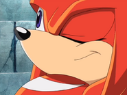Knuckles the Echidna Close-Up