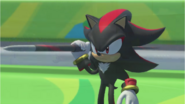 Mario & Sonic at the Rio 2016 Olympic Games - Shadow Javelin Throw