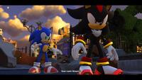 SF Shadow the Hedgehog and Sonic the Hedgehog