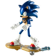 Shiny sonic figure