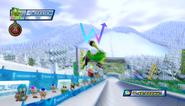 Mario Sonic Olympic Winter Games Gameplay 137