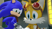 Nervous Sonic and Tails