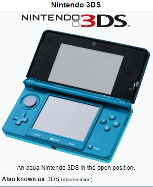 Nintendo 3ds on wikipedia
