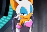 Rouge Angry at Eggman