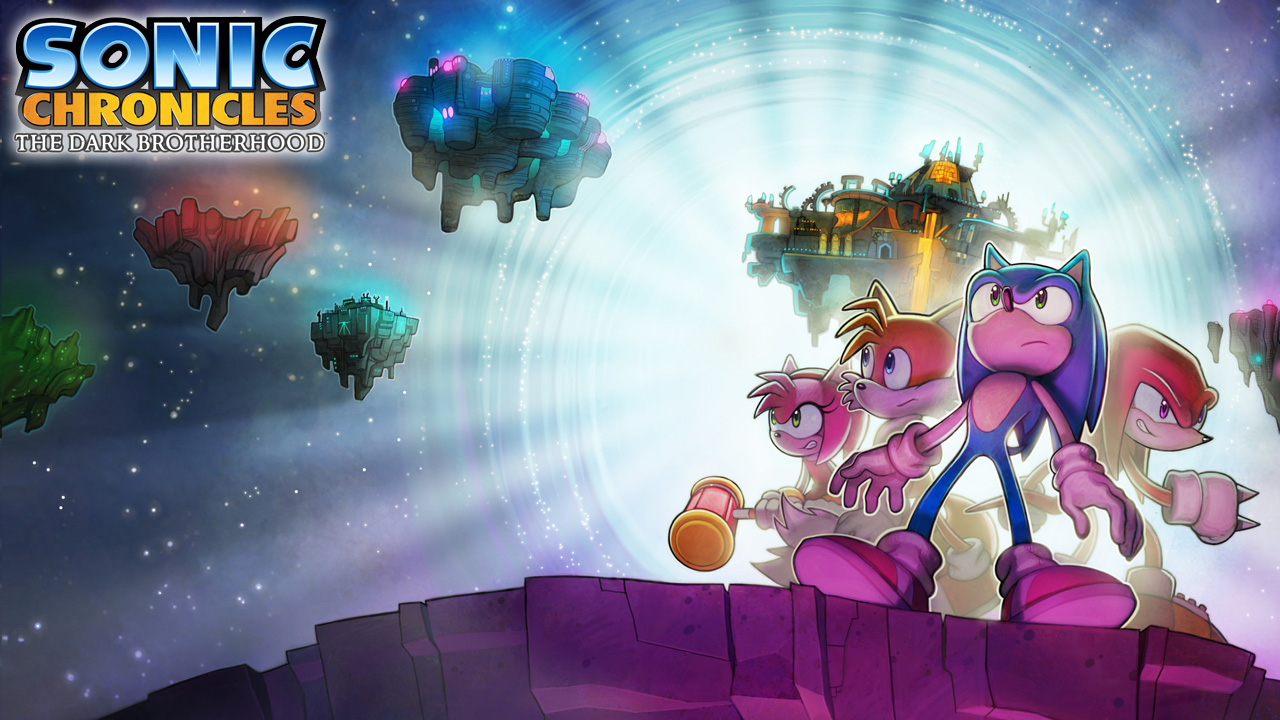 Sonic Chronicles The Dark Brotherhood Wallpaper 2
