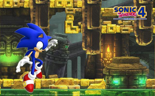 File:Sonic The Hedgehog 4 - Episode 1- Wallpaper - (3).jpg