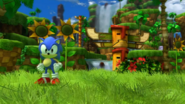 Sonic generations - green hill - game shot - 241