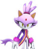 Blaze the Cat (Character Select Artwork) (Mario & Sonic 2014)