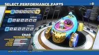 Chao Legendary Flash Bonnet Front