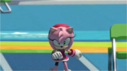 Mario & Sonic at the Rio 2016 Olympic Games - Amy Triple Jump