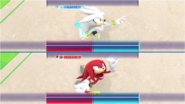 Mario & Sonic at the Rio 2016 Olympic Games - Silver VS Knuckles Gymnastics