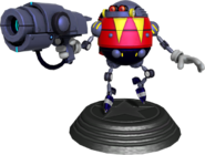 Sonic Generations Eggrobo Statue