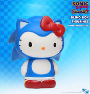 Toynami SxS Sonic x Hello Kitty BB