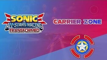 Carrier Zone - Sonic & All-Stars Racing Transformed
