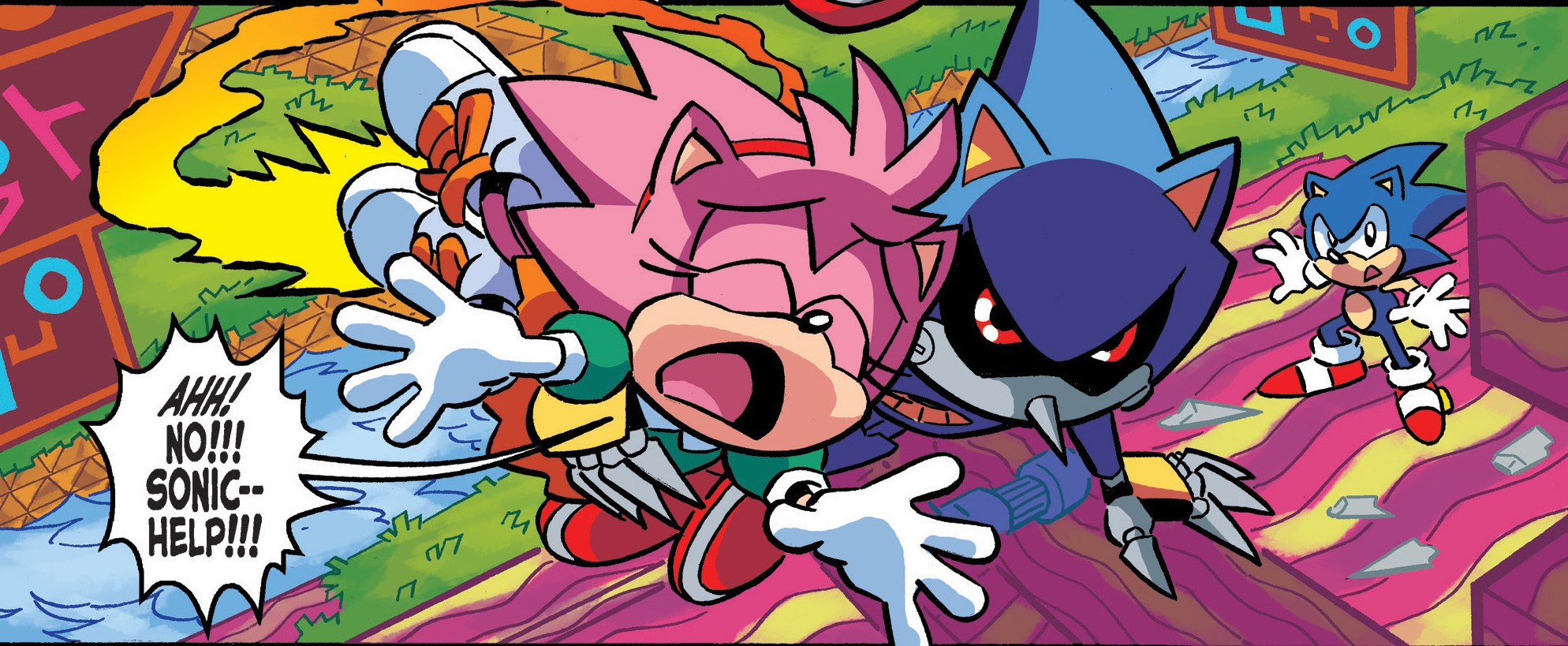 Amy Off Of Sonic amy rose (archie) | sonic news network | fandom