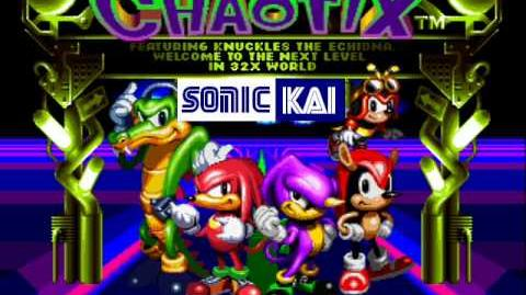 Knuckles' Chaotix Isolated Island