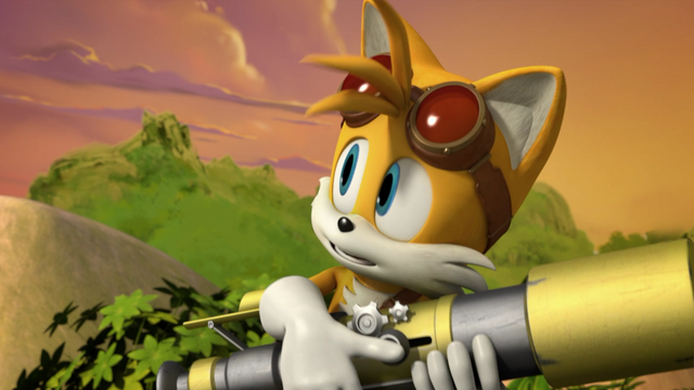 File:SB - Tails was watching the sunset going down.png