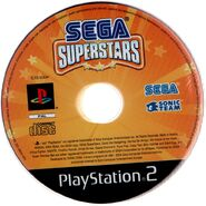 SEGA SuperStars PAL CD