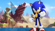 SonicForcesWallpaperSonic