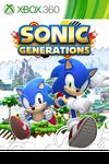 Sonic Generations XONE box art