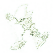 Early Metal Sonic concept5