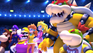 Mario Sonic Olympic Winter Games Festival Mode Opening 6