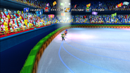 Mario Sonic Olympic Winter Games Gameplay 355