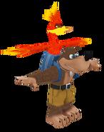 SASASR Character Model Banjo