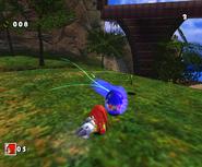 SA Knuckles vs Sonic DX 3