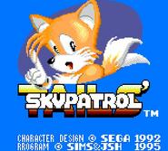 Skypatrol title screen