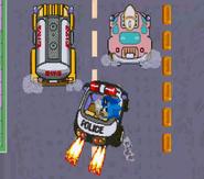 Waku Waku Sonic Patrol Car 08