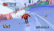 Mario Sonic Olympic Winter Games Gameplay 033