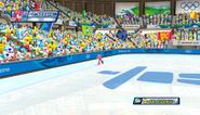 Mario Sonic Olympic Winter Games Gameplay 068