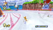 Mario Sonic Olympic Winter Games Gameplay 239