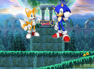 S4EII Sega background