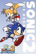 Sonic 2 3D wallpaper 1